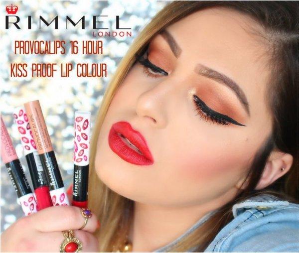 Photo1: Rimmel Provocalips 16hr Kissproof Lipstick (1)